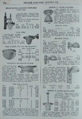 JPG (61649 bytes) page278_thumb_beller.JPG (64540 bytes)  sc 1 st  Old House Lights & 1927 Beller Antique Lighting Catalog frame azcodes.com