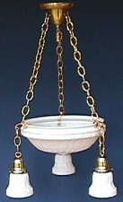Antique Victorian Pendent Light Fixtures