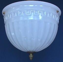 Antique Victorian 1 Drop Ceiling Light Fixture 018